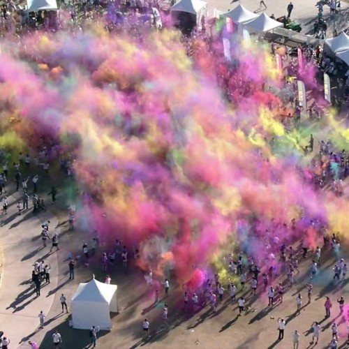 The Color Run Aerials