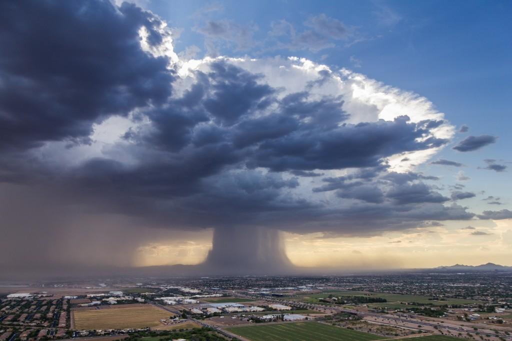 Microburst Over Phoenix