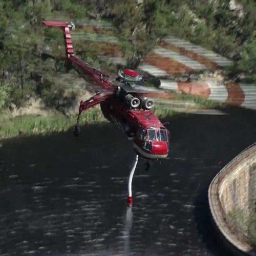 Sky Crane Firefighting